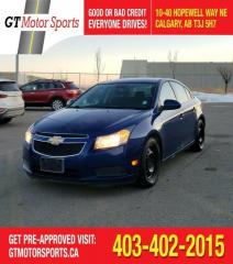 Used 2012 Chevrolet Cruze LT Turbo w/1SA |$0 DOWN - EVERYONE APPROVED! for sale in Calgary, AB