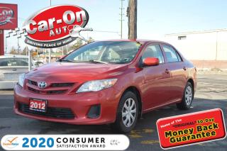Used 2012 Toyota Corolla AUTOMATIC | AIR COND for sale in Ottawa, ON