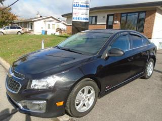 Used 2015 Chevrolet Cruze RS for sale in Ancienne Lorette, QC