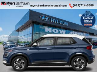 New 2021 Hyundai Venue Trend Urban Denim  - Denim Interior - $162 B/W for sale in Nepean, ON