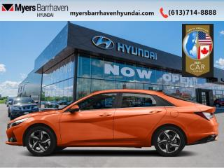 New 2021 Hyundai Elantra Ultimate IVT  - Leather Seats - $164 B/W for sale in Nepean, ON