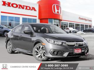 Used 2018 Honda Civic APPLE CARPLAY™ & ANDROID AUTO™   HEATED SEATS   REMOTE STARTER for sale in Cambridge, ON