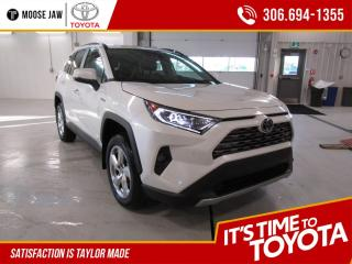 New 2021 Toyota RAV4 Hybrid Limited LIMITED AWD for sale in Moose Jaw, SK