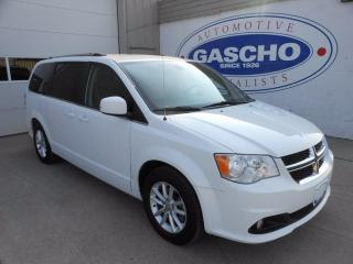 Used 2019 Dodge Grand Caravan SXT Plus / Navigation / Leather / Bluetooth / Stow N Go for sale in Kitchener, ON
