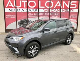Used 2017 Toyota RAV4 LE-ALL CREDIT ACCEPTED for sale in Toronto, ON