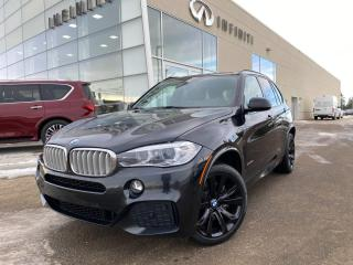 Used 2016 BMW X5 50i M SPORT, FULL LOAD, 2 TIRES 1 OWNER for sale in Edmonton, AB