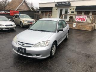 Used 2005 Honda Civic SE for sale in Sutton, ON