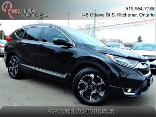 Used 2017 Honda CR-V Touring.Navi.Camera.BlindSpot.LaneAssist.Radar for sale in Kitchener, ON