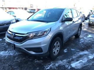 Used 2015 Honda CR-V LX/AUTO/BLUETOOTH/CERTIFIED/4CYLINDER/2.4LITRE for sale in Toronto, ON