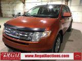Photo of Orange 2007 Ford Edge