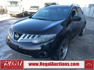 Used 2010 Nissan Murano SL 4D Utility AWD 3.5L for sale in Calgary, AB