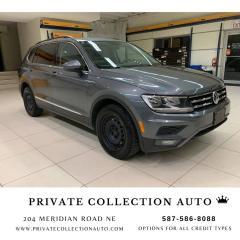 Used 2018 Volkswagen Tiguan COMFORTLINE for sale in Calgary, AB