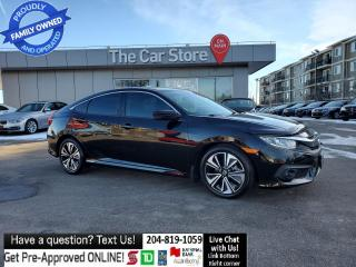 Used 2016 Honda Civic Sedan EX-T SUNROOF Htd Seat Ream Cam LANE DEPART/COLLIS for sale in Winnipeg, MB