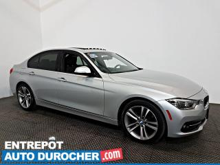 Used 2016 BMW 3 Series 328i xDrive AWD NAVIGATION - Toit Ouvrant - A/C - for sale in Laval, QC