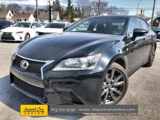 Used 2013 Lexus GS 350 F-SPORT  LEATHER  ROOF  NAVI  BLIS  HTD SEATS for sale in Ottawa, ON
