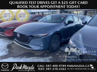 New 2021 Mazda MAZDA3 SPORT GT for sale in Sherwood Park, AB