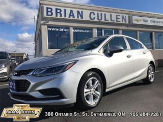 Used 2018 Chevrolet Cruze LT  - Low Mileage for sale in St Catharines, ON