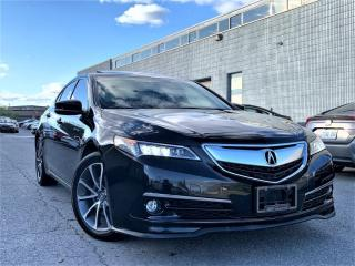 Used 2017 Acura TLX ELITE|AWD|SUNROOF|PADDLE SHIFTER|NAVIGATION| ALLOYS! for sale in Brampton, ON