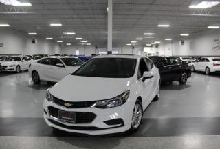 Used 2016 Chevrolet Cruze LT I SUNROOF I REAR CAM I CARPLAY I HEATED SEATS I BLUETOOTH for sale in Mississauga, ON