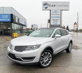 Used 2017 Lincoln MKX Reserve | AWD | RESERVE | for sale in Barrie, ON