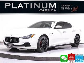Used 2017 Maserati Ghibli S Q4, 3.0L 404HP, AWD, NAV, CAM, PARKING SENSORS for sale in Toronto, ON