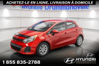 Used 2016 Kia Rio LX + GARANTIE + A/C +  WOW !! for sale in Drummondville, QC