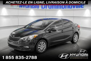 Used 2014 Kia Forte EX + GARANTIE + CAMERA + A/C + MAGS + WO for sale in Drummondville, QC