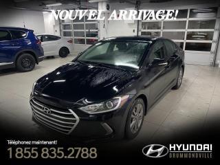 Used 2017 Hyundai Elantra GL + GARANTIE + CAMERA + A/C + CARPLAY + for sale in Drummondville, QC