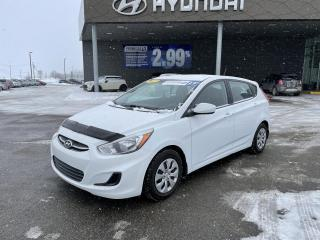 Used 2017 Hyundai Accent 5dr HB Man GL,A/C,CRUISE,BLUETOOTH ++ for sale in Mirabel, QC