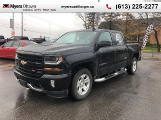 Used 2018 Chevrolet Silverado 1500 LT  2LT, CREW, Z71, 5.3 V8, 4X4, TRUE NORTH, 5.3 V8 for sale in Ottawa, ON