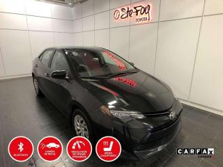 Used 2017 Toyota Corolla LE - CRUISE ADAPTATIF - SIEGES CHAUFFANTS for sale in Québec, QC