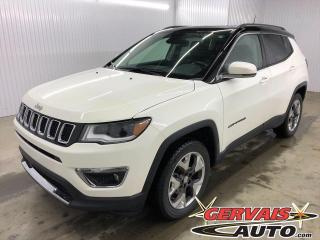 Used 2018 Jeep Compass Limited 4x4 MAGS CUIR TOIT PANORAMIQUE for sale in Trois-Rivières, QC