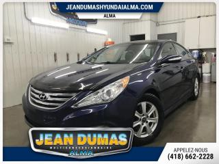 Used 2014 Hyundai Sonata MODÈLE SE CUIR TOIT MAG PNEU HIVER ÉTÉ S for sale in Alma, QC