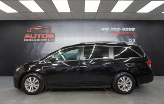 Used 2015 Honda Odyssey EX AUTO MAGS CAMERA BLUETOOTH SIÈGES 118 867 KM !! for sale in Lévis, QC