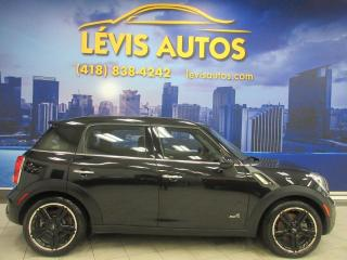 Used 2013 MINI Cooper Countryman S ALL4 MANUEL 6 VITESSES TOIT PANO CUIR for sale in Lévis, QC