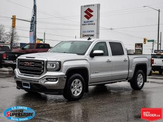 Used 2016 GMC Sierra 1500 SLE Crew Cab 4x4 ~Heated Leather ~Backup Camera for sale in Barrie, ON
