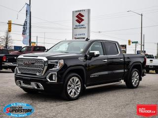Used 2020 GMC Sierra 1500 Denali Crew Cab 4x4 ~Nav ~Camera ~Leather ~Roof for sale in Barrie, ON
