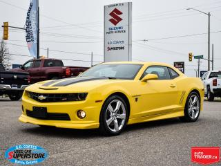 Used 2010 Chevrolet Camaro 2SS ~6.2L V8 ~6-Speed ~ONE OWNER ~ONLY 25,000 KM! for sale in Barrie, ON