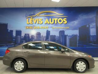 Used 2012 Honda Civic LX AUTOMATIQUE AIR CLIMATISE BLUETOOTH T for sale in Lévis, QC