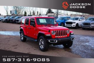 New 2021 Jeep Wrangler Sahara | Navigation | Remote Start | Leather for sale in Medicine Hat, AB