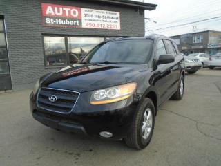 Used 2009 Hyundai Santa Fe GL**CUIR**BAS KILOMÉTRAGE**WOW** for sale in St-Hubert, QC
