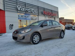Used 2014 Hyundai Accent GL for sale in Val-d'Or, QC