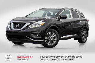 Used 2016 Nissan Murano SV FWD FWD / NAVIGATION / CAMERA DE RECUL / SIEGE CHAUFFANT / TOIT PANORAMIQUE for sale in Montréal, QC