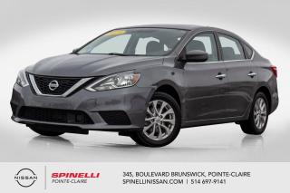 Used 2018 Nissan Sentra SV TOIT OUVRANT / TRÈS BAS KM  / CAMERA DE RECUL / BLUETOOTH for sale in Montréal, QC