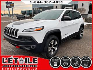 Used 2014 Jeep Cherokee Trailhawk 4x4 V6 Dem à Distance for sale in Jonquière, QC