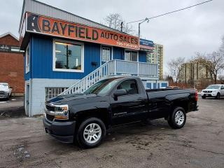 Used 2018 Chevrolet Silverado 1500 LS 4x4 Reg Cab Long Box **5.3L V8** for sale in Barrie, ON