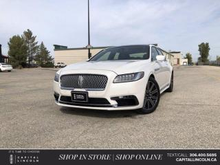 Used 2017 Lincoln Continental Reserve *Heated Steering Wheel *A/C Seats *Sunroof for sale in Regina, SK