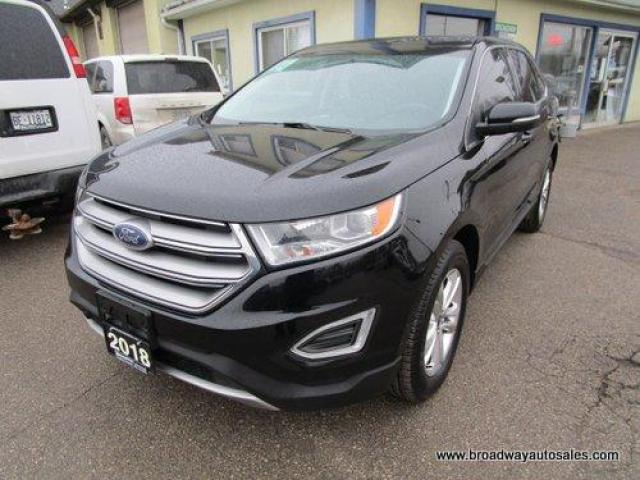 2018 Ford Edge ALL-WHEEL DRIVE SEL EDITION 5 PASSENGER 3.5L - V6.. NAVIGATION.. LEATHER.. HEATED SEATS & WHEEL.. PANORAMIC SUNROOF.. BACK-UP CAMERA.. BLUETOOTH..