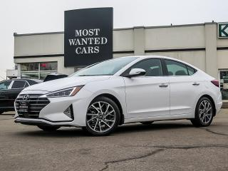Used 2020 Hyundai Elantra ULTIMATE|BLIND|NAV|FRONT+REAR HEATED SEATS|ALLOYS|SUNROOF for sale in Kitchener, ON