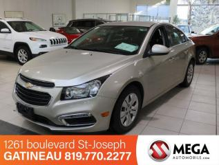 Used 2016 Chevrolet Cruze LT for sale in Gatineau, QC